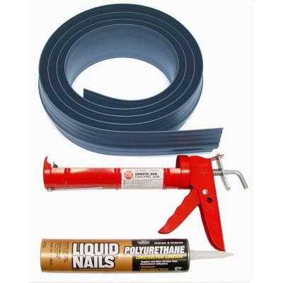 Tsunami Seal 10 Ft Gray Garage Door Threshold Kit Garage Door Threshold Seal Garage Door Threshold Door Threshold Seal