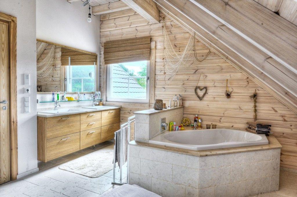 Badezimmer modelle ~ Honka einfamilienhaus modell peak badezimmer ausblick