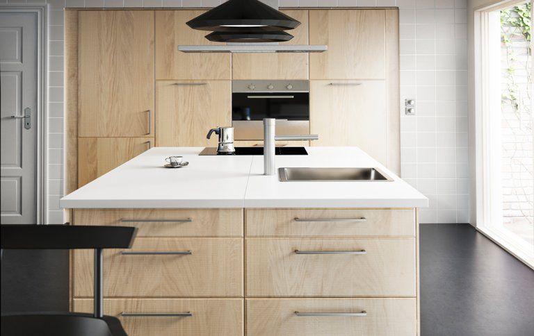 Küchenfronten Ikea küchenfronten norje in handmade optik bei ikea kitchens