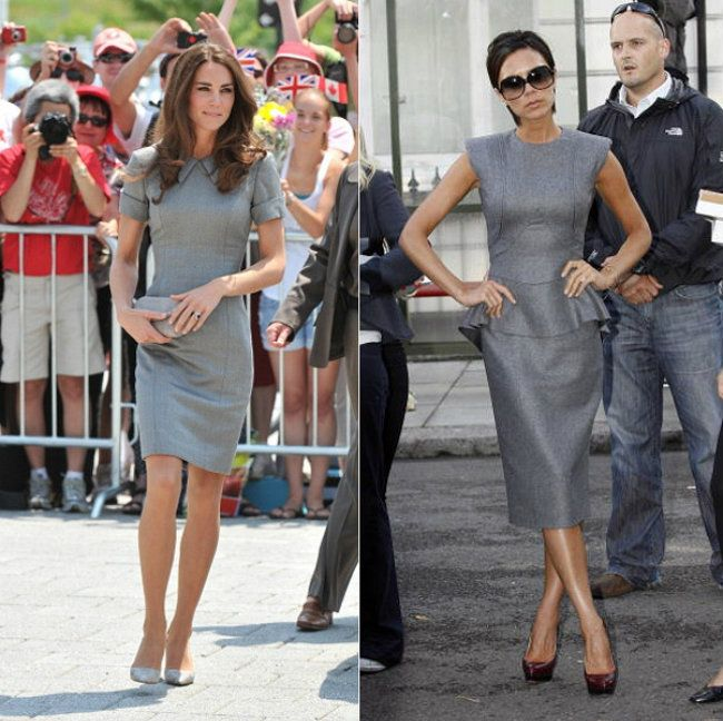 Kate Middleton é a nova Victoria Beckham?