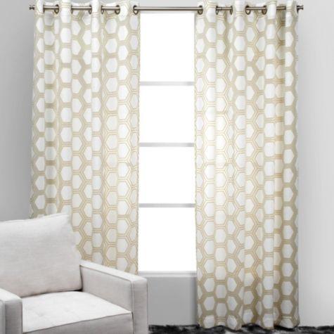 Ankara Panels Sand From Z Gallerie Bedroom Window Treatments