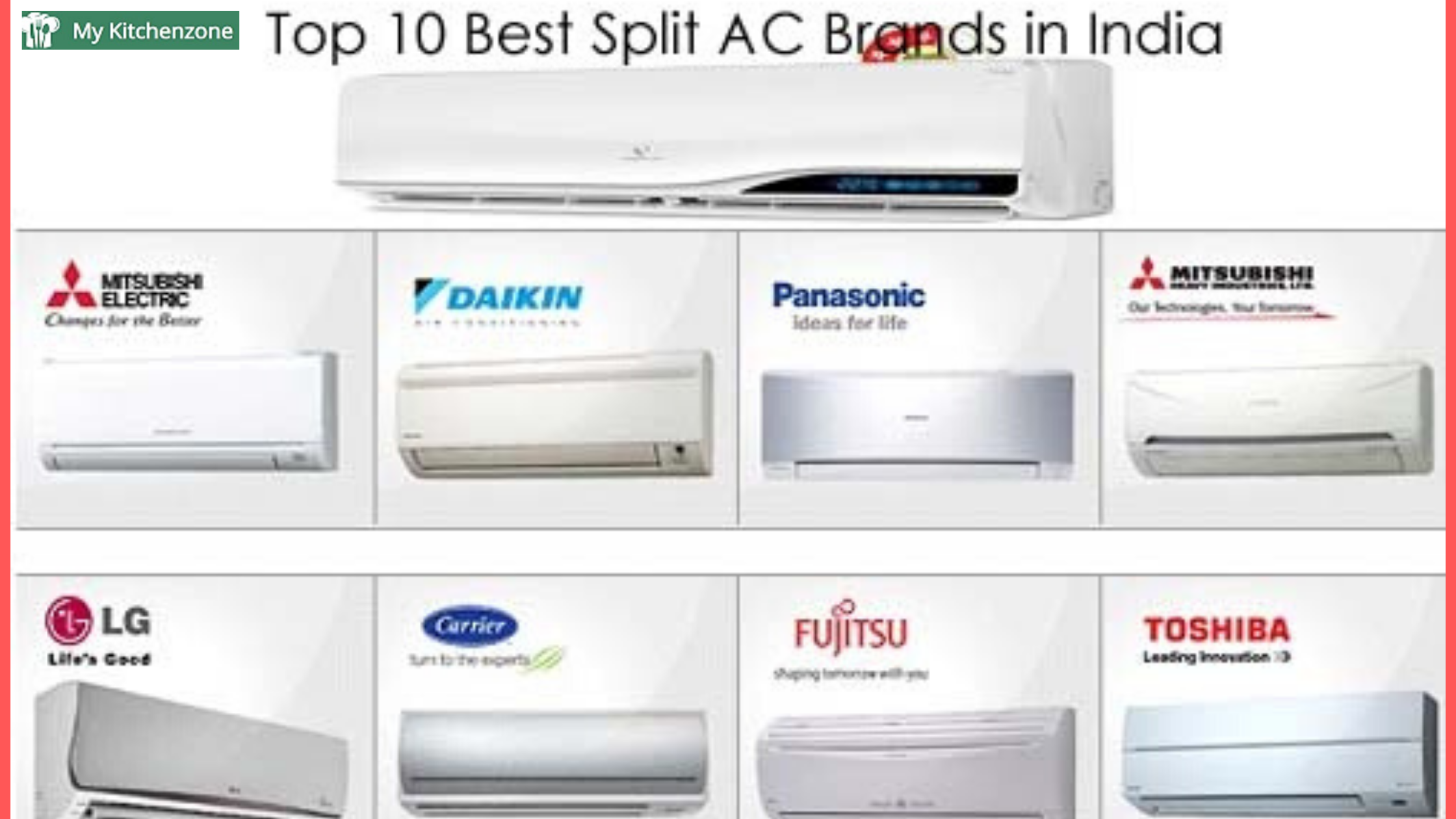 If you are planning to buy top air conditioner brands in