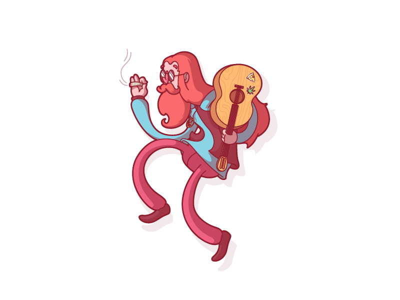 Smoke weed everyday by Thunder Rockets - Dribbble
