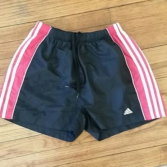 Adidas athletic shorts Adidas athletic shorts. Two pockets, 100% Polyester Adidas Shorts