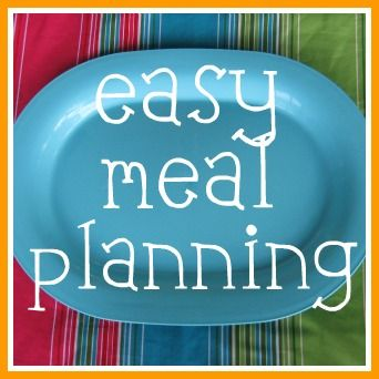 Easy Meal Planning Ideas for a stress free holiday season! (part 1) -- The Peaceful Mom