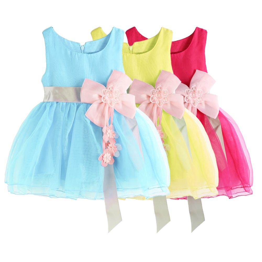 0-3 Years Baby Girls Summer Mesh Dress Fashion Toddler Kids ...