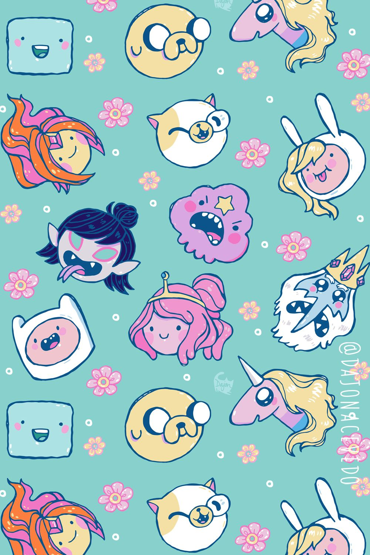 Dajonacevedo Shop Redbubble Adventure Time Wallpaper Adventure Time Princesses Adventure Time Cartoon