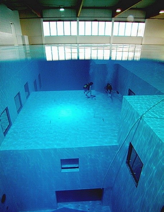 какова глубина бассейна