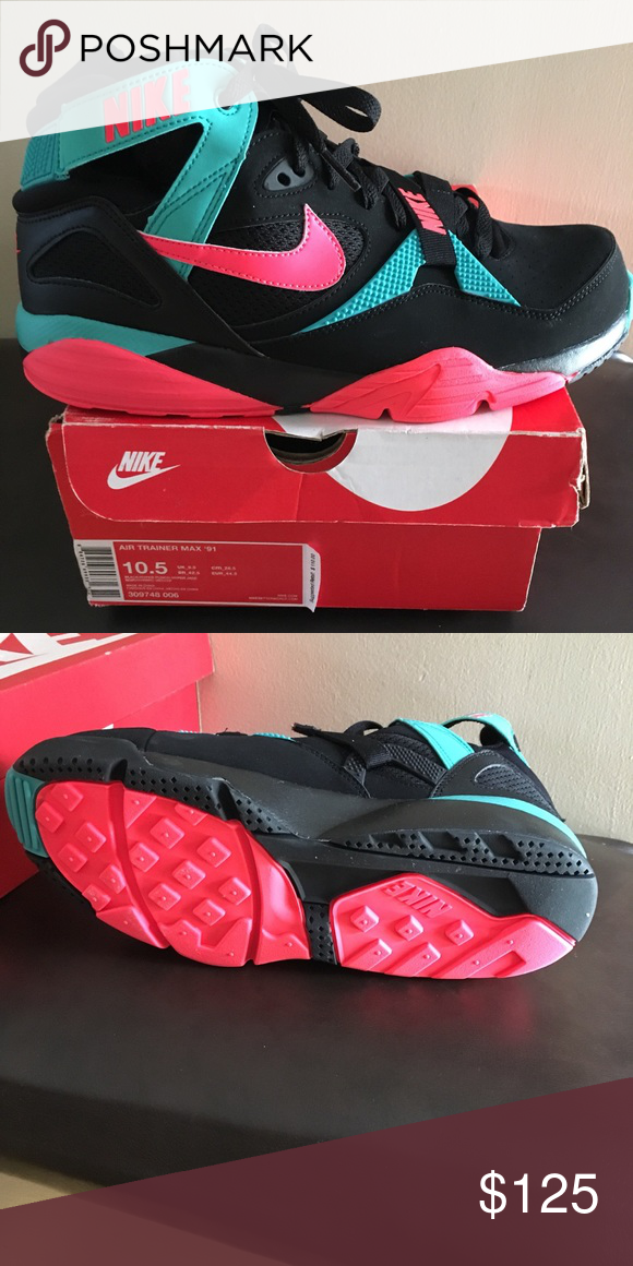 7a121854d ... trainers Bo Jackson south beach Hyperjade hyperpunch Never worn with  box Size 10.5  depop  nike  southbeach  niketrainer  sneakers  nwt  hype   hypebeast ...