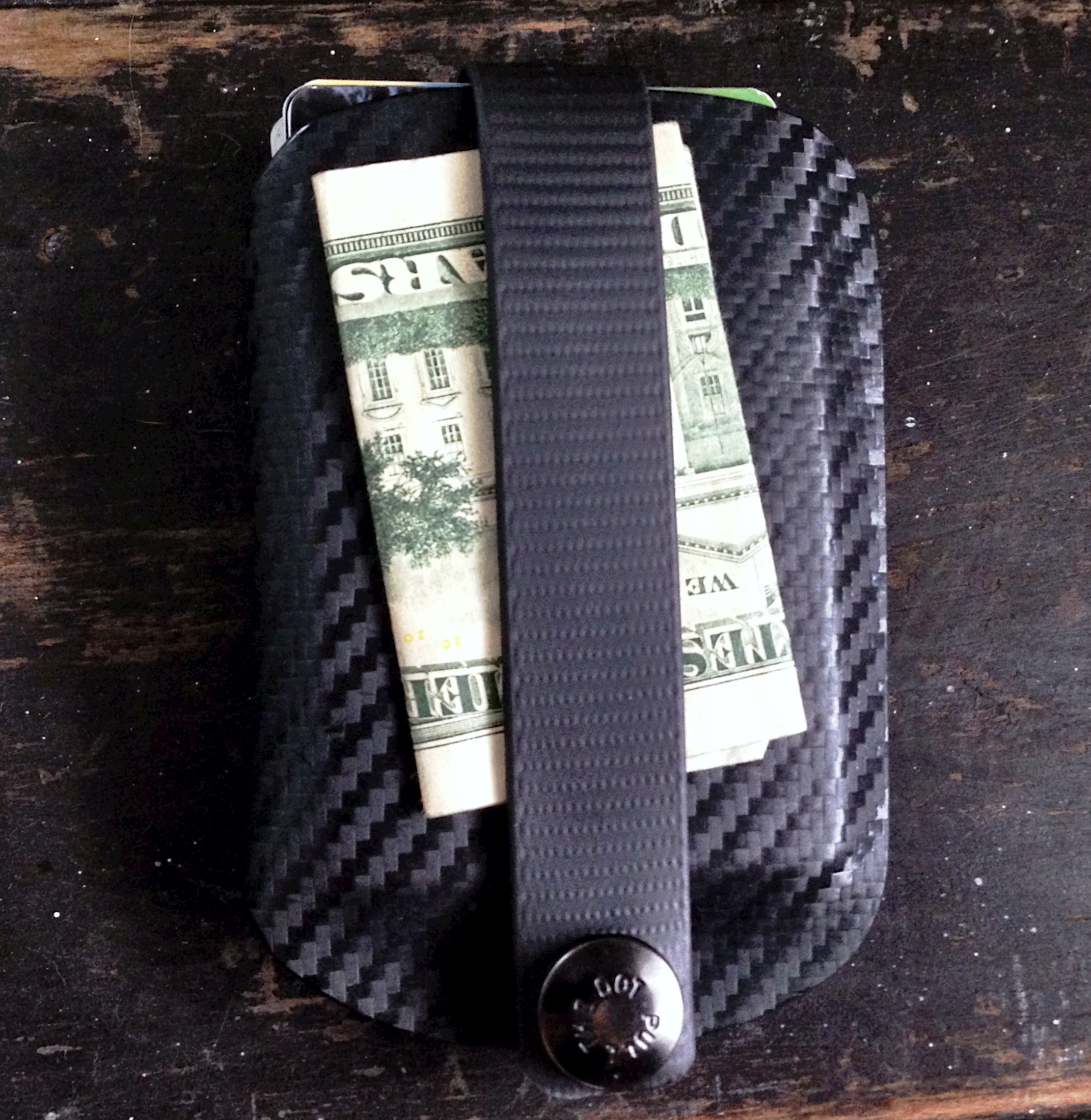 """Armatus Carry Solutions """"Vita EDC"""" Wallet Click on the picture to see why this will be the last wallet you ever need to buy."""