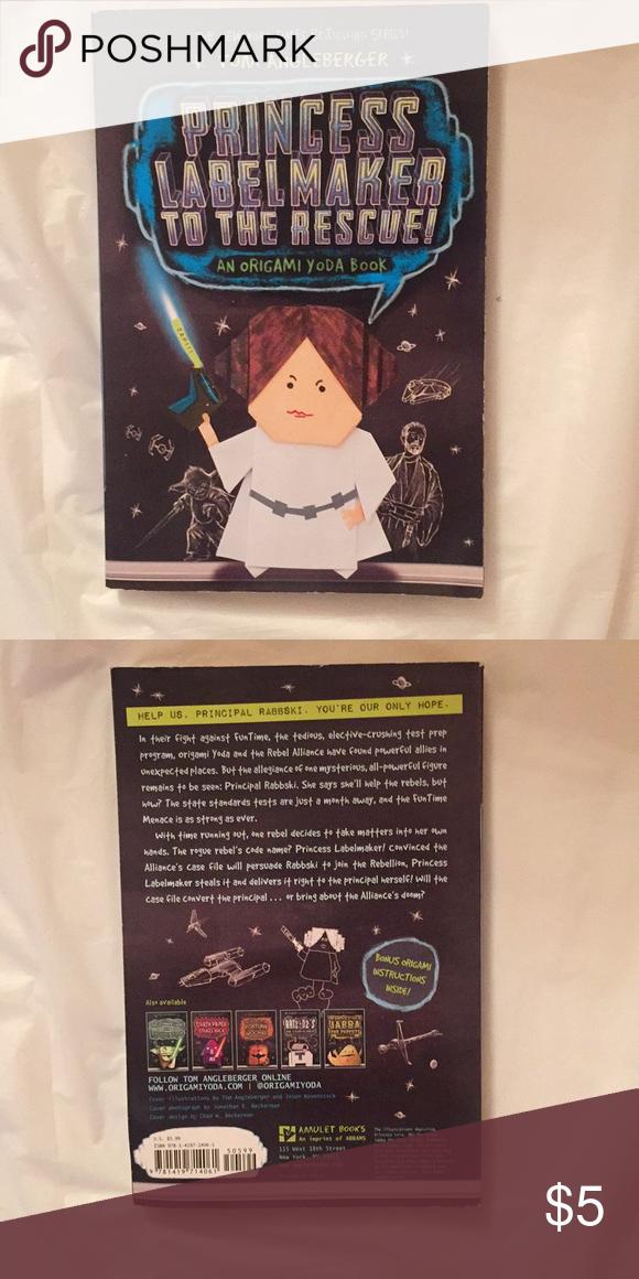 Sold Book Princess Label Maker To The Rescue Origami Yoda Book Label Maker Coffee Table Books