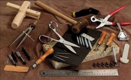 Amazon Com Tandy Leathercraft Pro Workers Basic Tool Set 4899 01