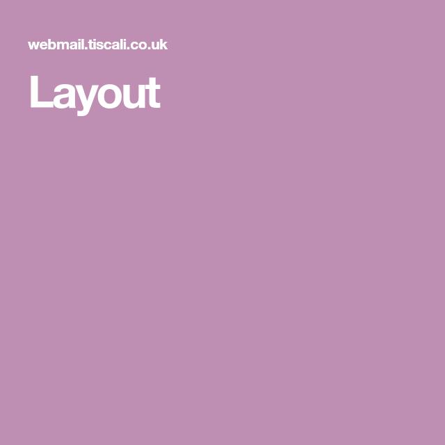 Layout Layout Webmail Exterior Colors