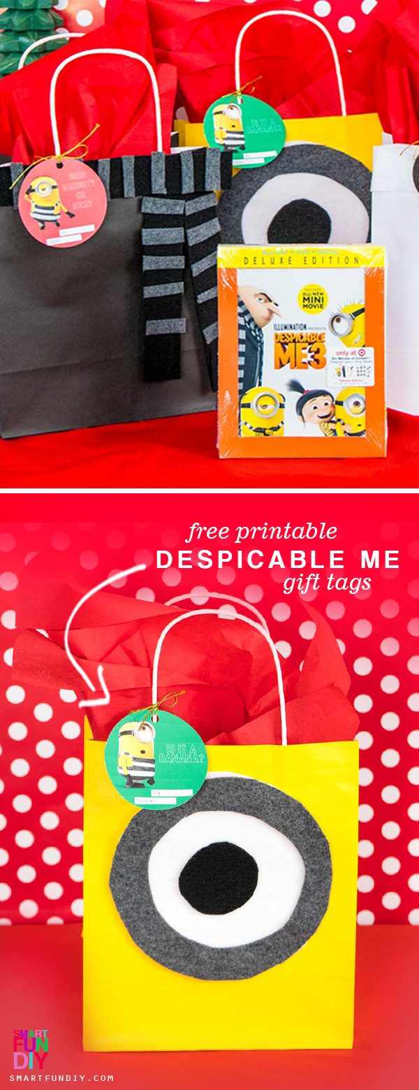 Despicable Me Gift Wrap Ideas (With images) Christmas