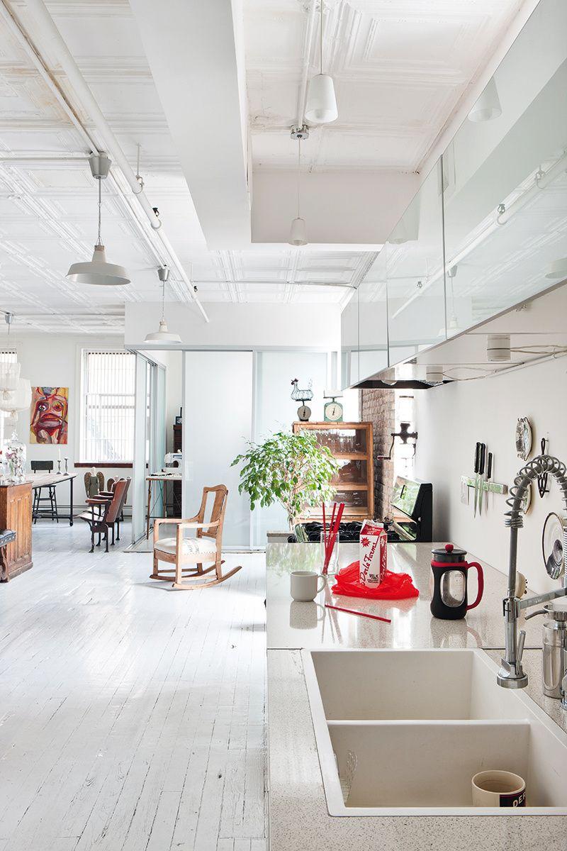 Loft de Manhattan | Lofts, Manhattan and Interiors