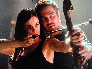 the huntress on arrow....I really hope she returns this season