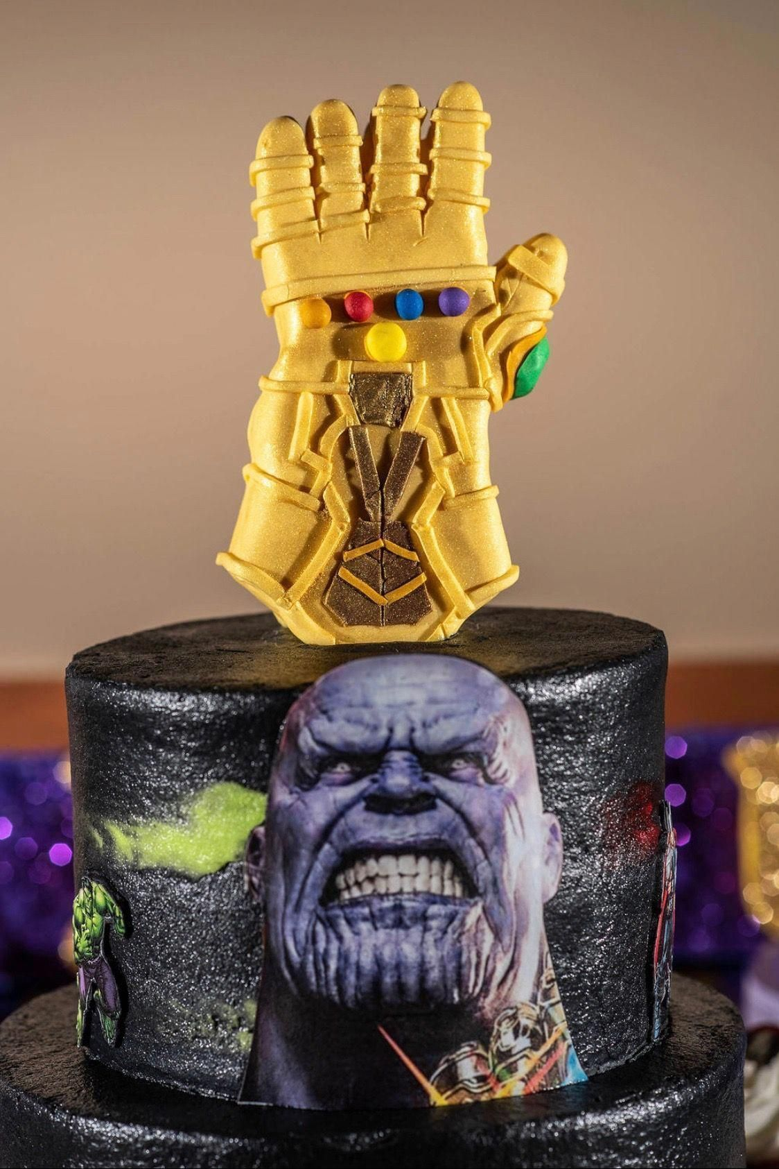 Photo of Thanos Birthday Cake #easyboybirthdaycakes –  Thanos Birthday Cake #easyboybirth…