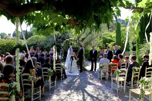 Rustic Wedding in Provence destinationweddingfrance.com