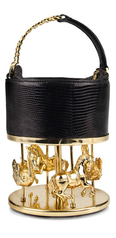 Stunning  Carousel bag by Inés Figaredo Luxury Handbag Brands, Luxury Bags,  Leather Box 797eba056b