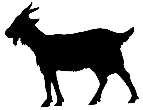 Image result for goat silhouette