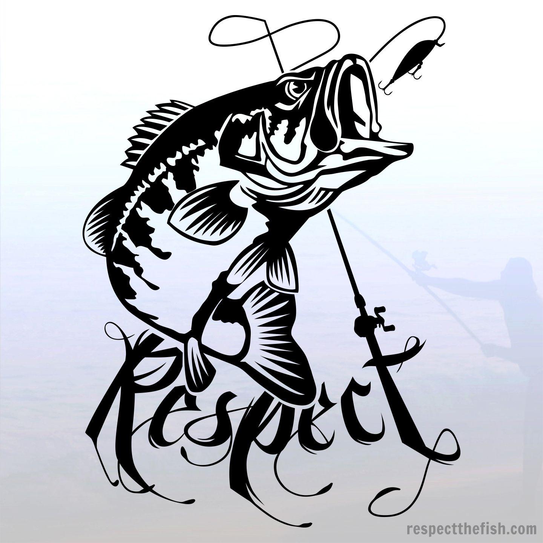 largemouth bass decal largemouth bass bass fishing and bass