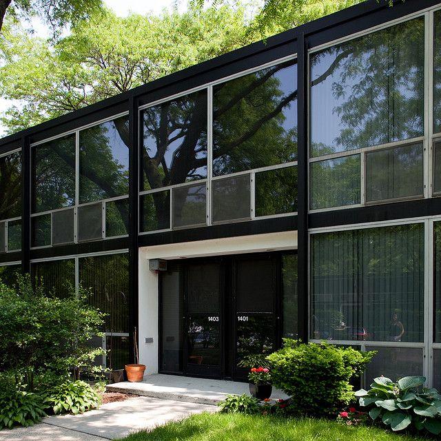 Mies Van Der Roheu0027s Lafayette Park, Detroit