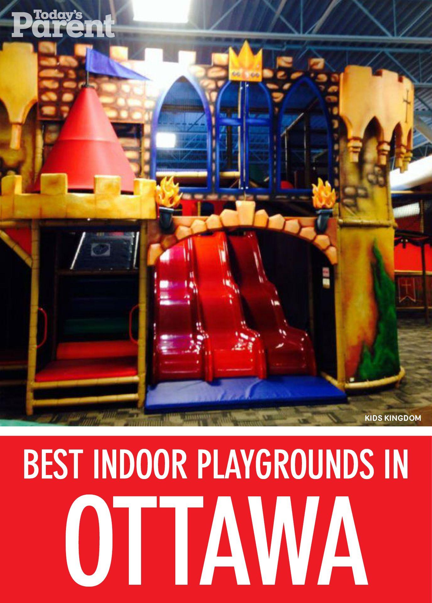 4 Best Indoor Playgrounds In Ottawa