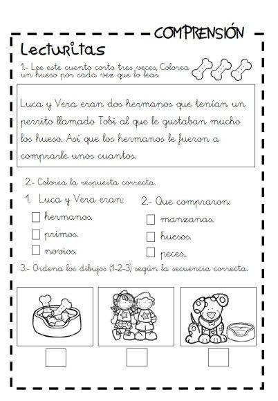 Lecturas Infantiles Y Cuentitos Para Trabajar La Comprensión Lectora Orientacion Andujar Comprensión Lectora Lectura De Comprensión Comprensión