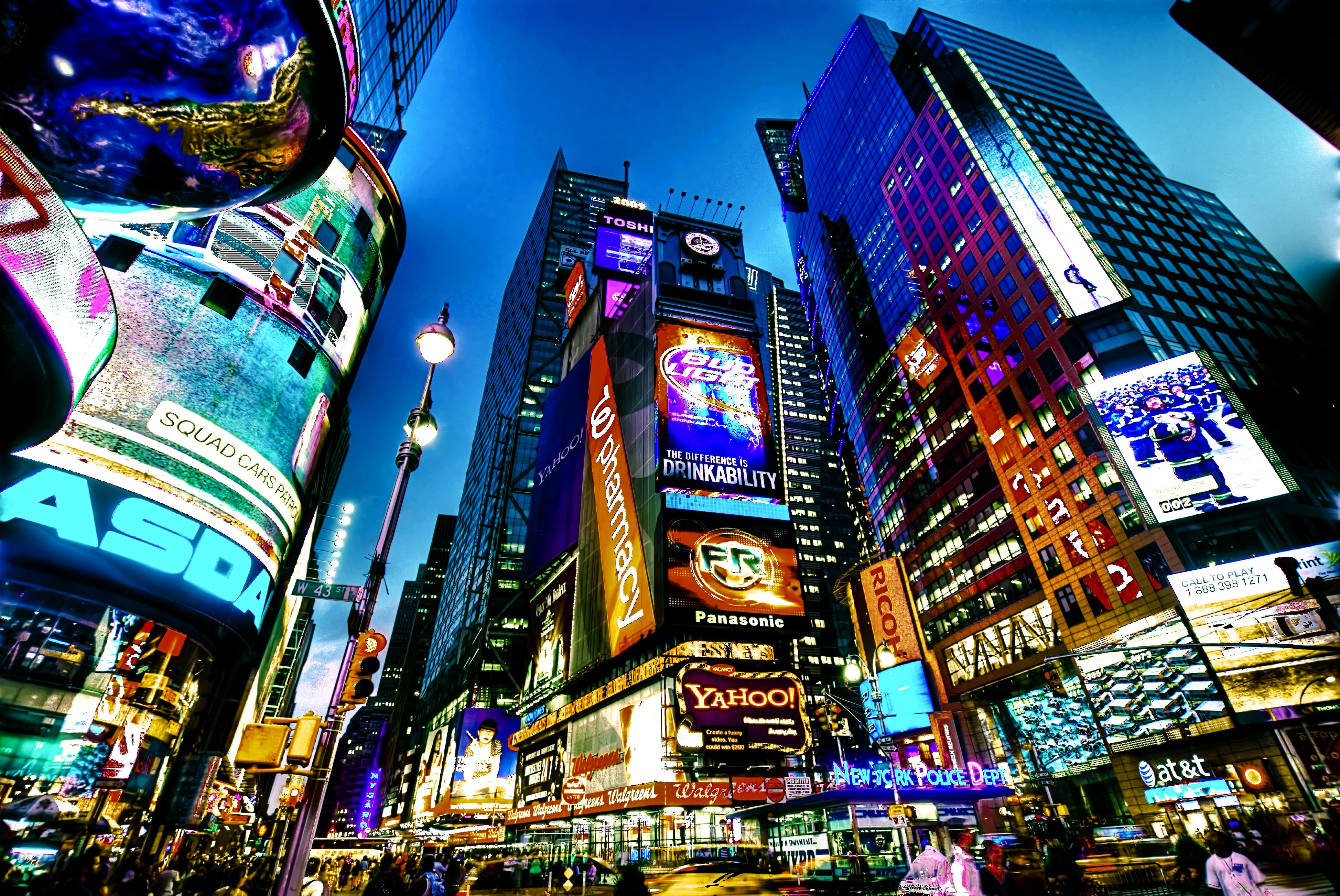 New York, New York ❤ one day