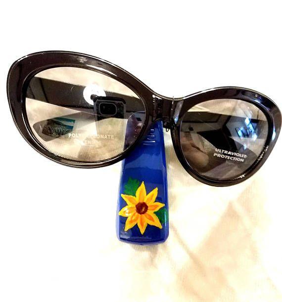 cc442634728 Car Accessories Sunglass Visor clip Sunflower car decor