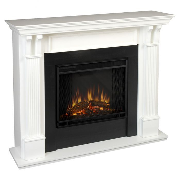 ashley electric fireplace - Electric Fireplace With Mantel