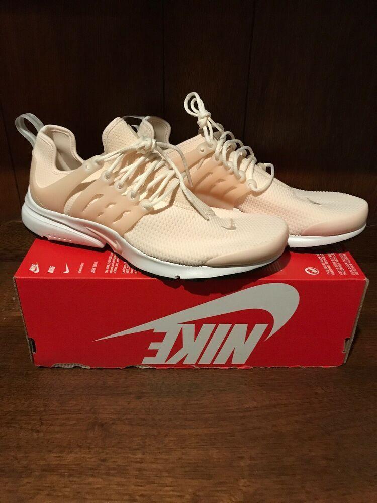 newest deda7 e9c9f Nike Air Presto Women's Running Shoes Guava Ice White Peach ...