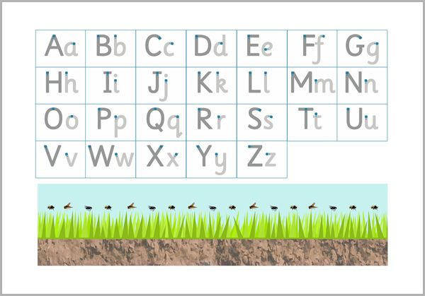 Letter Formation Letter Formation Sheet Ideal For Practising Lowercase And Capital Letters Letter Formation Teaching Resources Primary Pre Writing Activities
