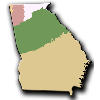 Georgia Regions Social Studies Pinterest Georgia Regions - Georgia map activity tier 2
