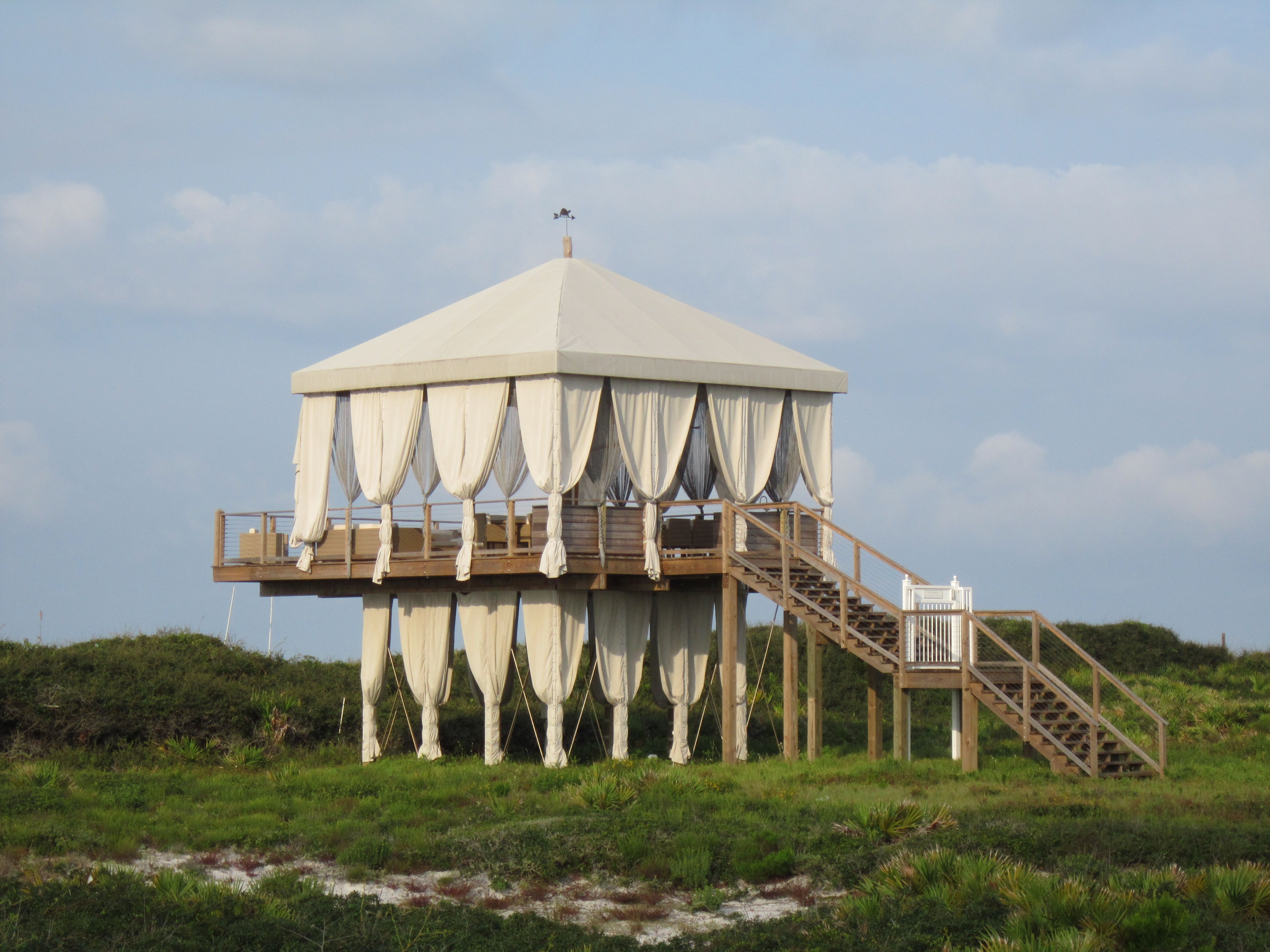 Alys Beach Fl We Tried To Get Up This Amazing Pavilion Its All