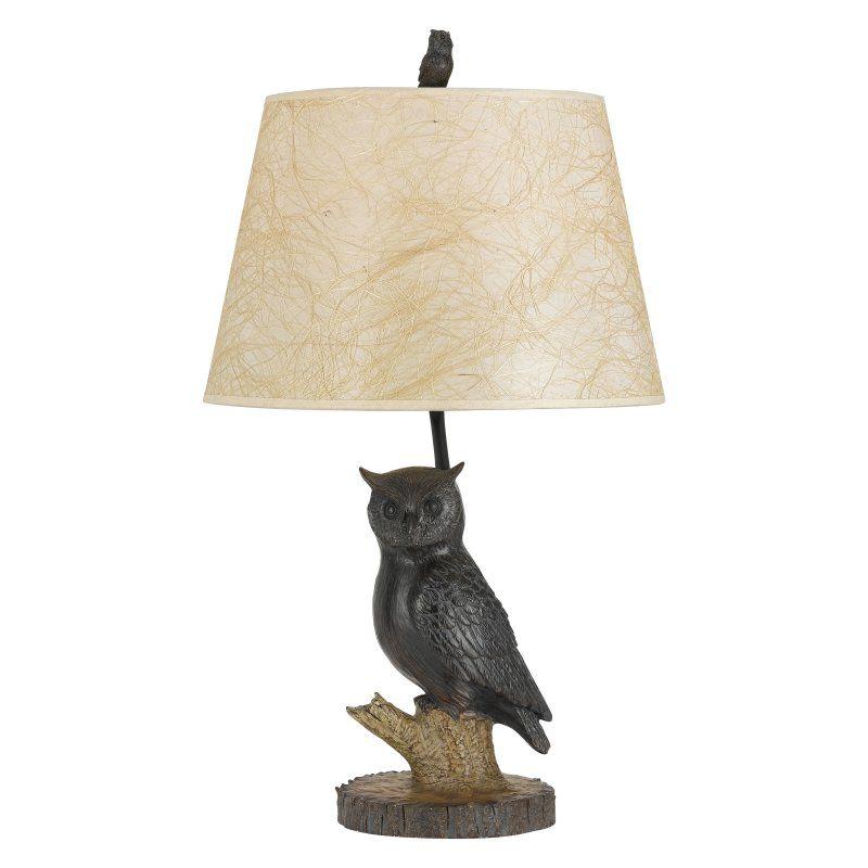 Cal Lighting Owl BO-2599 Table Lamp - BO-2599TB