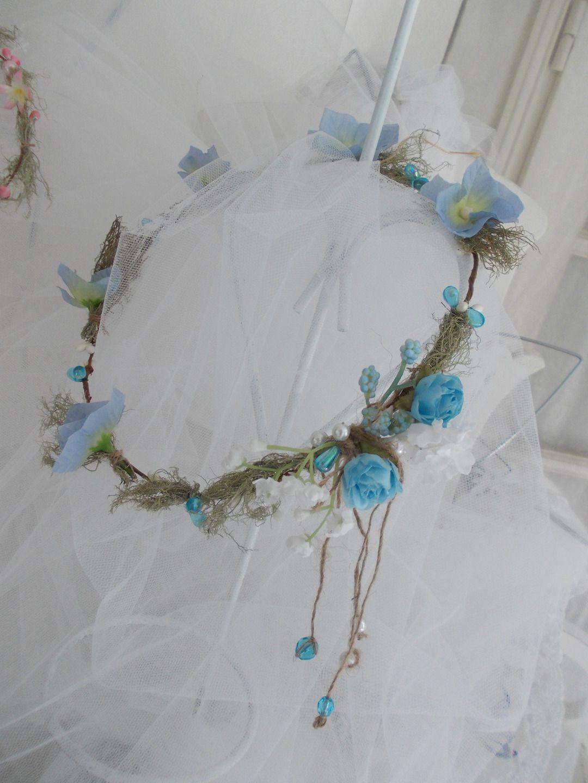 couronne de fleur cheveux pour cérémonie Accessoires coiffure par