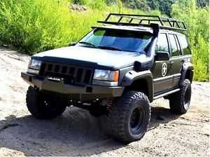 Detalles De Jeep Grand Cherokee Zj 93 98 Acero Delantero Parachoques Cabrestante Off Road Ver Titulo Original Jeep Grand Cherokee Zj Jeep Zj Jeep Grand Cherokee