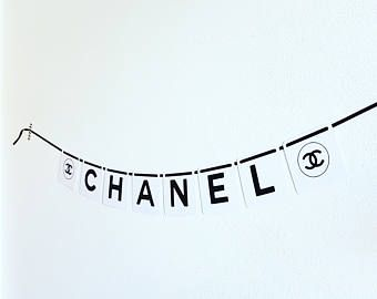 Tags. Chanel Party Decorations