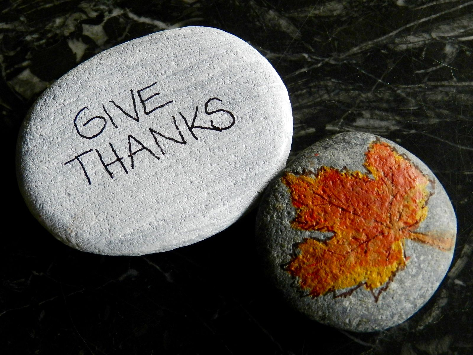 Favorite Thanksgiving Crafts for Any Age painted rocks