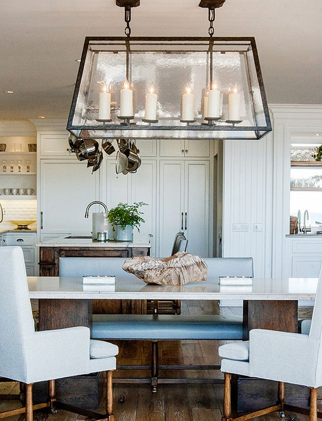 California Beach House With Transitional Interiors HousesDining Room LightingBeach