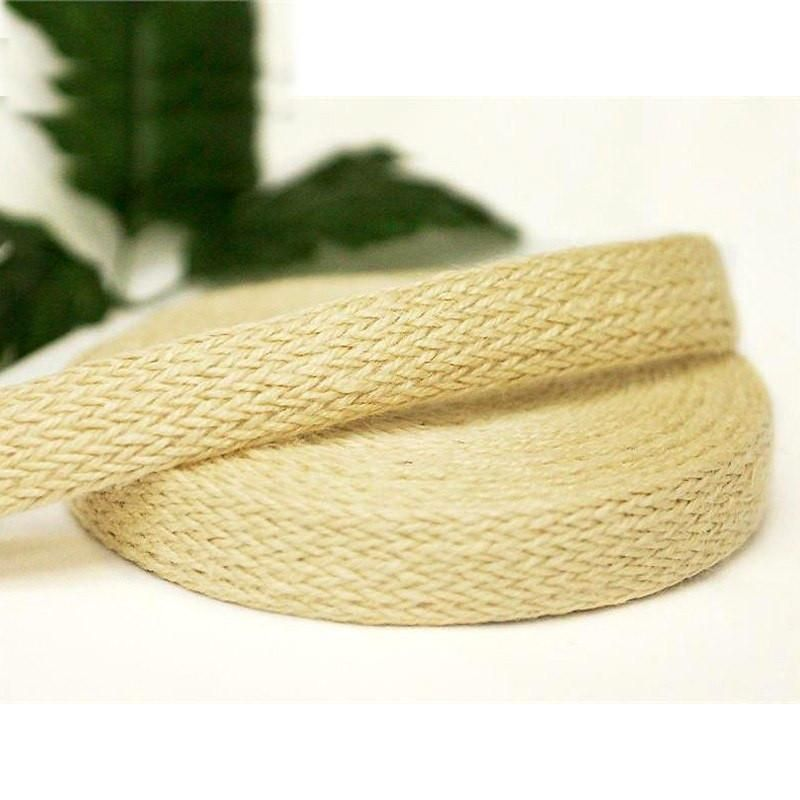 Woven Jute Ribbon 1 Pack Ivory 1 X 10 Yards Colored Burlap Rolls Colored Burlap Burlap Ribbon Wedding Ribbon