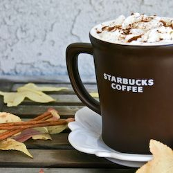 pumpkin spice lattes, I'm using postom, not coffee (starbucks copycat) EXCELLENT!!!