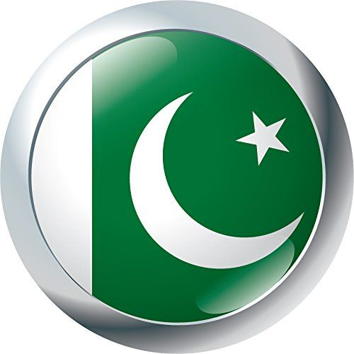 Pakistan Flag Glossy Emblem Home Decal Vinyl Sticker 12 X 12 You Can Find More Details By Visiting The Imag Pakistan Flag Vinyl Sticker Window Stickers