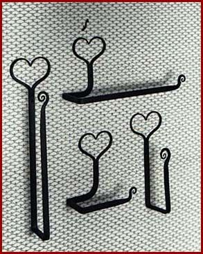 Scottish Lion Wrought Iron Paper Towl And Toiler Paper Holders