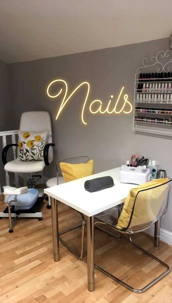 Small Nail Salon Decoration Ideas Nail Salon Decor Salon Decor Nail Salon Design Cute766