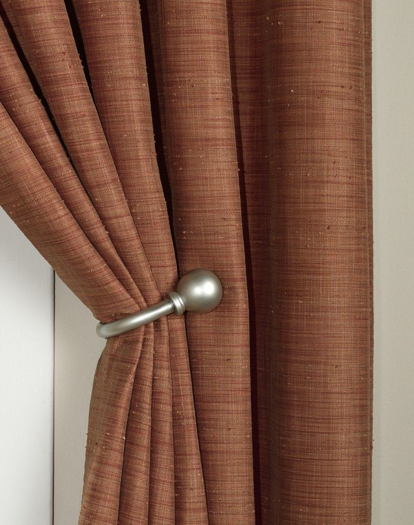 How To Install Curtain Holdbacks Design Ideas In Real Chocolate For Home