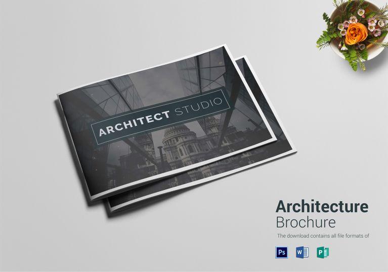 Refined Architecture Brochure Template Brochures Brochure