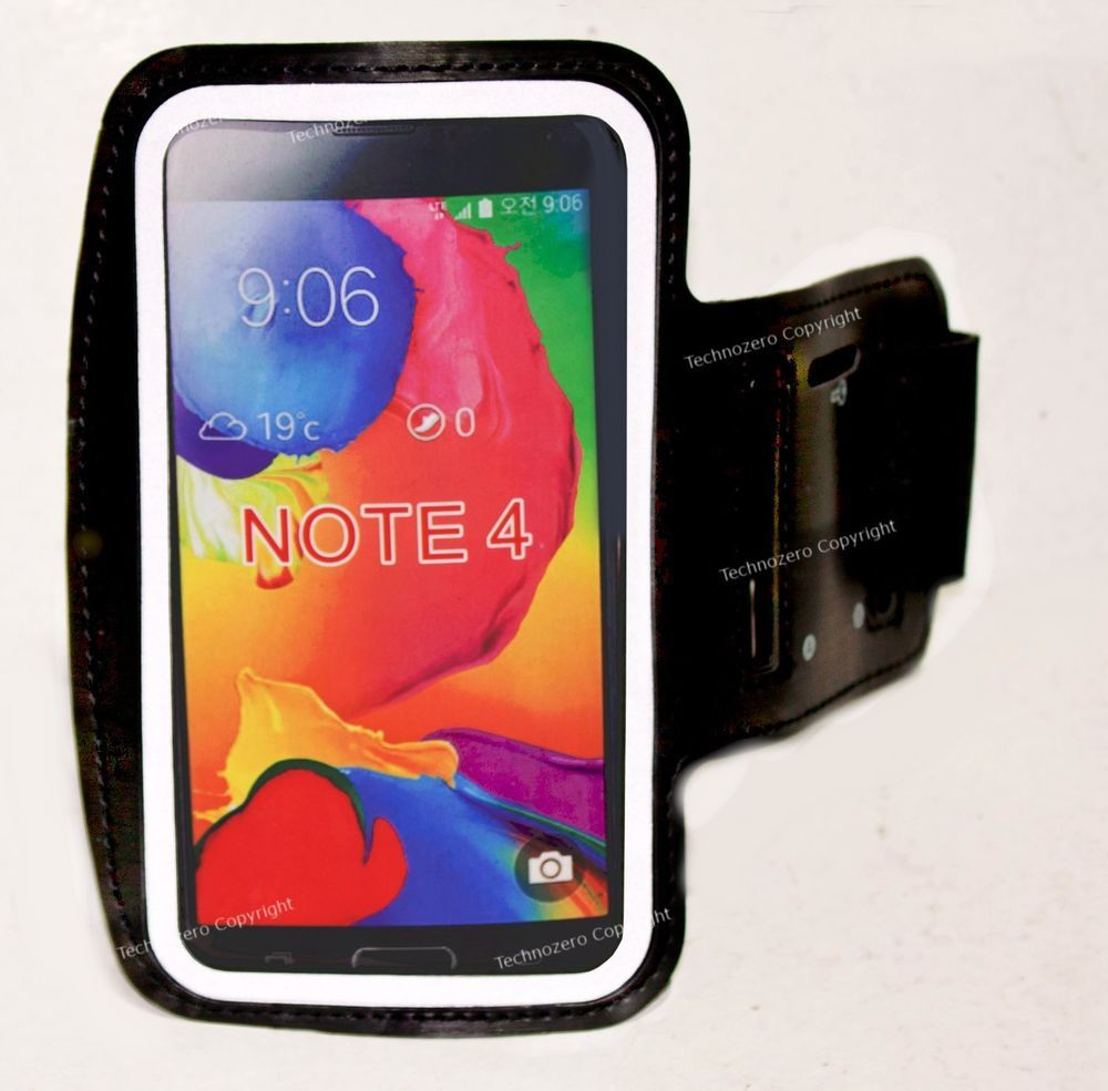 Armband Sport Cycling Gym For Smartphone Samsung Note 4 N910 Note 3 N9000