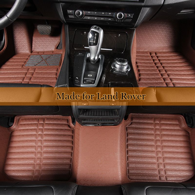 Double Layer Car Floor Mats For Land Rover Discovery 3 4 Freelander Range Rover Sport 3d Leather Coil Mats Floor Carpe Car Floor Mats Rugs On Carpet Floor Mats